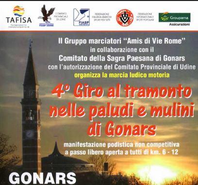 Calendario Fiasp Fvg.6 Giro Delle Paludi E Dei Mulini Di Gonars