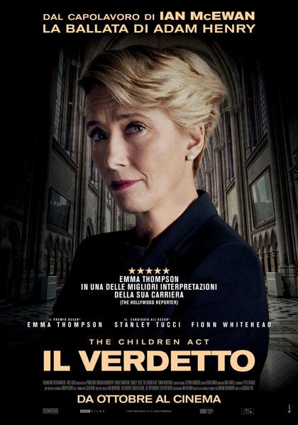Cinema San Vito: The Children Act - Il Verdetto*