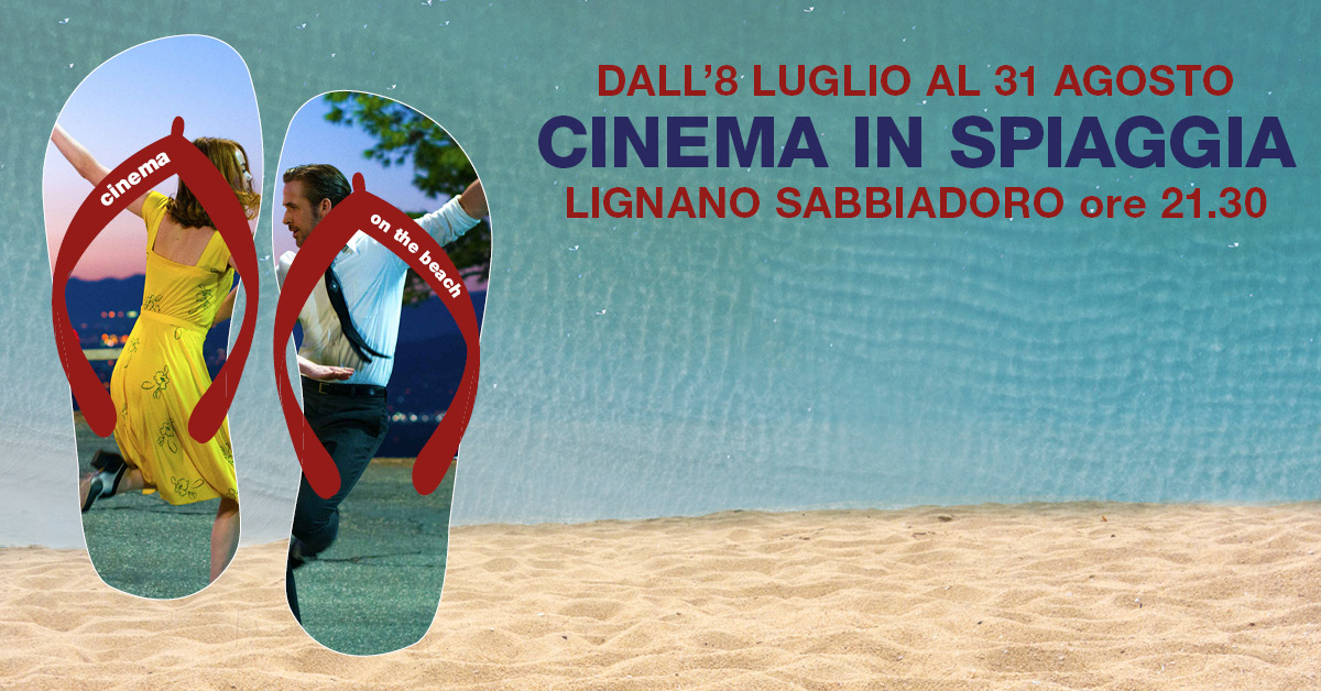 Cinema in spiaggia - Crazy night