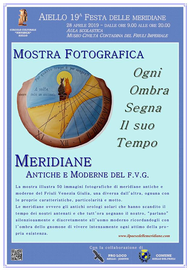"""Mostra fotografica """"Meridiane antiche e moderne del Friuli Venezia Giulia"""""""