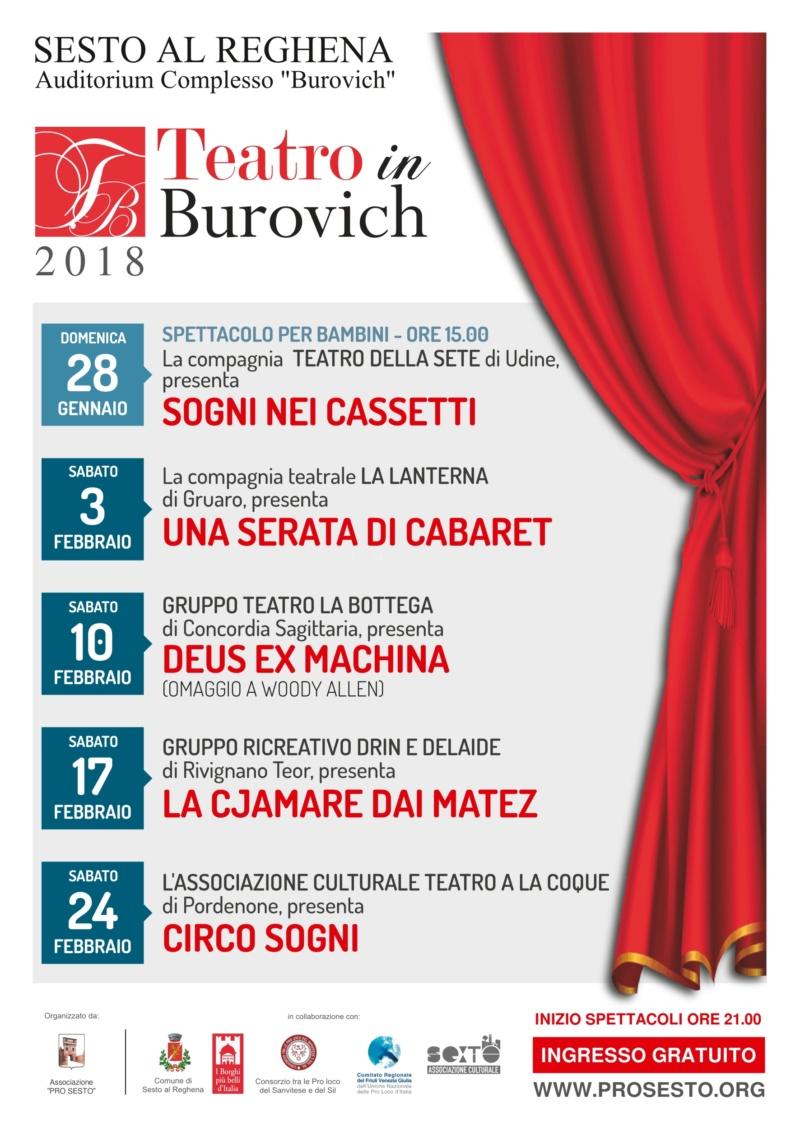 """""""Circo Sogni"""" Teatro in Burovich 2018"""