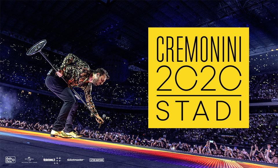 Cremonini Stadi 2020 - rinviato al 2021