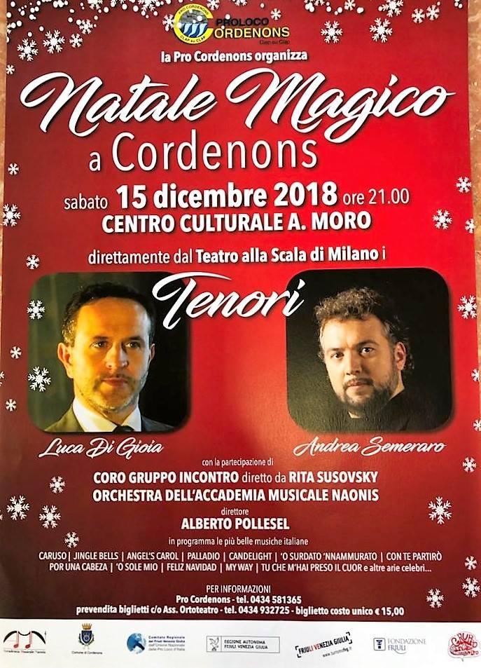 Natale magico a Cordenons