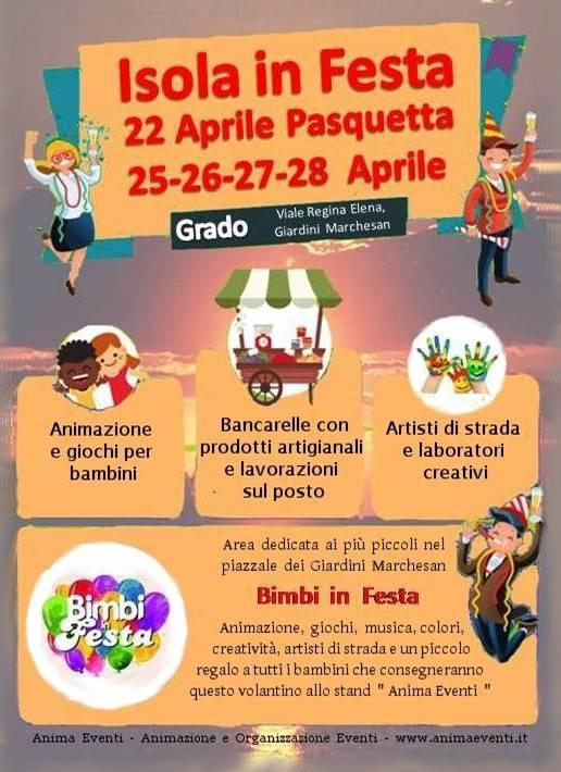Pasquetta 2019 - Isola in festa