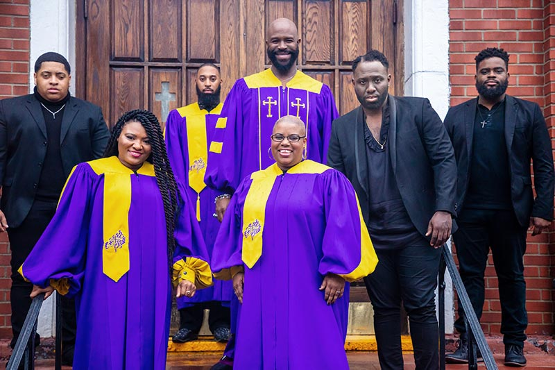GospeLive Festival. The Harlem Voices feat. Eric B. Turne