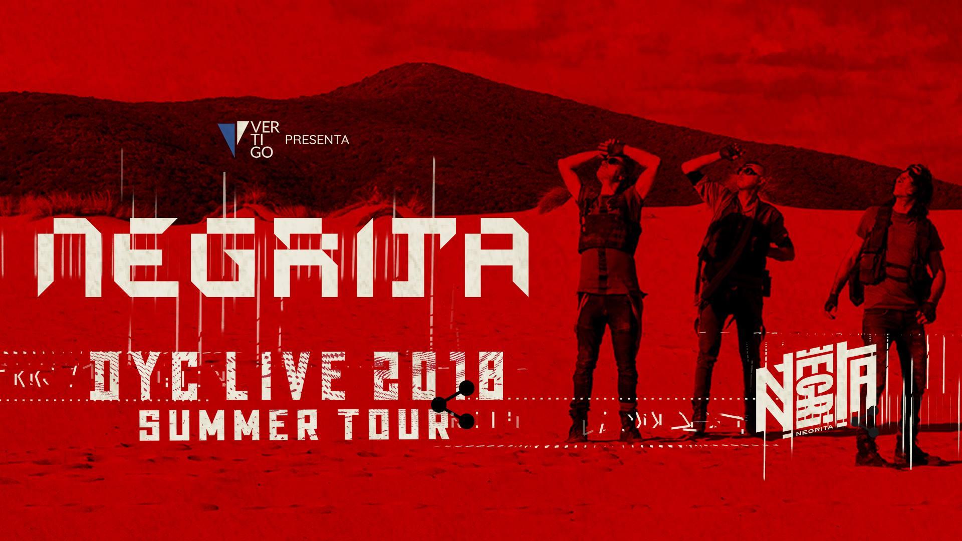Negrita DYC Live 2018 summer Tour