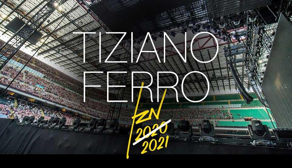 Tiziano Ferro TZN 2020 - posticipato al 2021