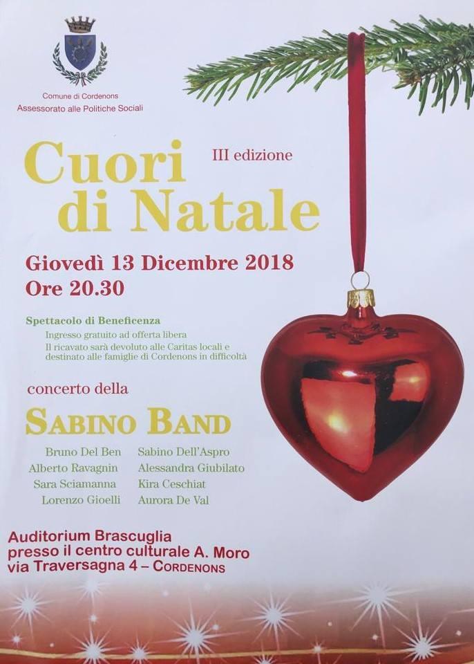 Cuori Di Natale - Concerto Della Sabino Band