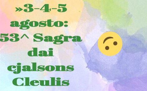 53^ Sagra dai Cjalsons