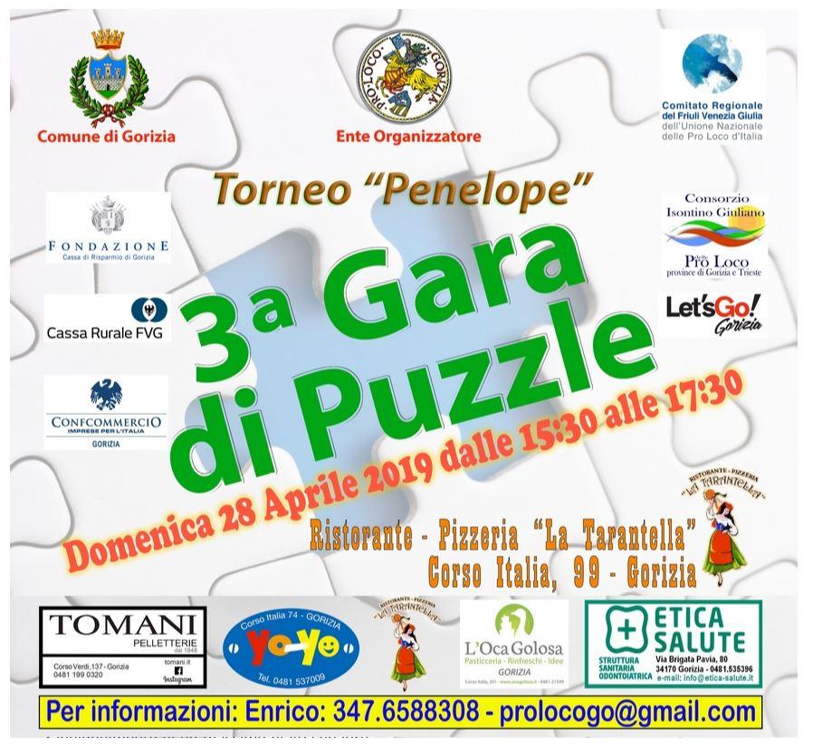 """3a edizione della Gara di Puzzle """"Torneo Penelope"""""""