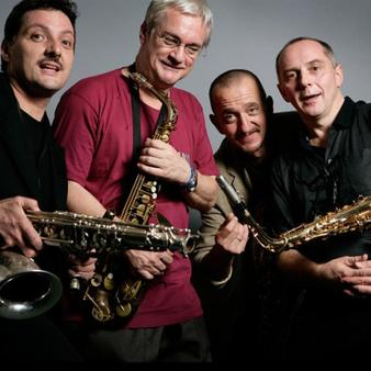 Jazz&wine of Peace Festival: Saxofour