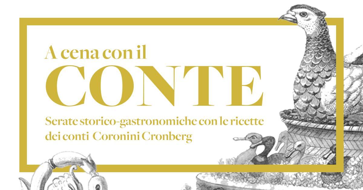 A cena con il Conte - Palazzo Coronini Cronberg