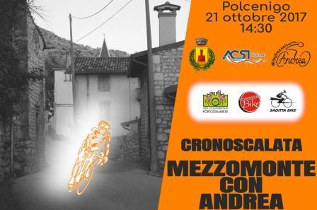 Cronoscalata Mezzomonte con Andrea