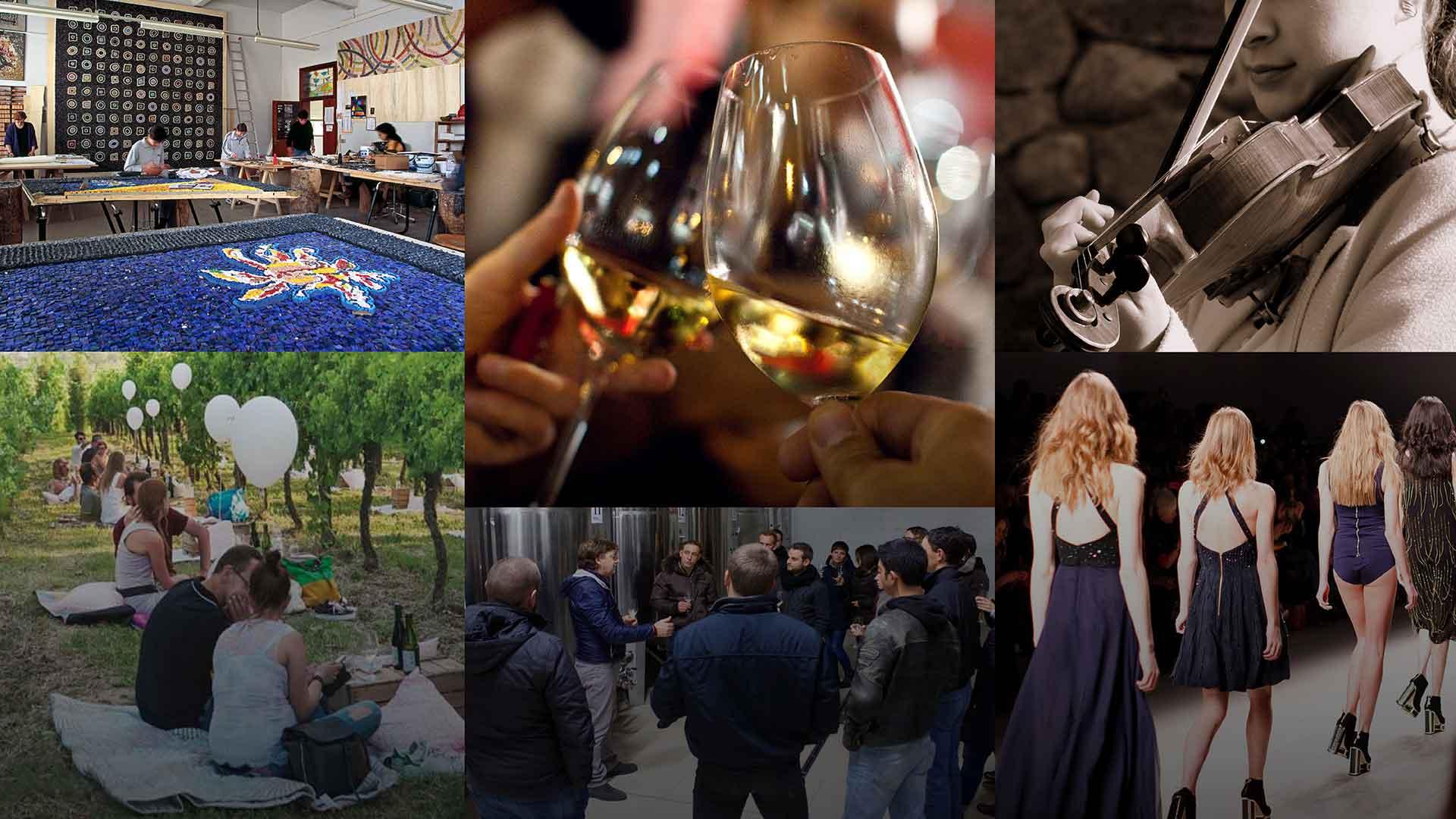 Art & Taste: La nobiltà dell'oro sulla Strada del Vino