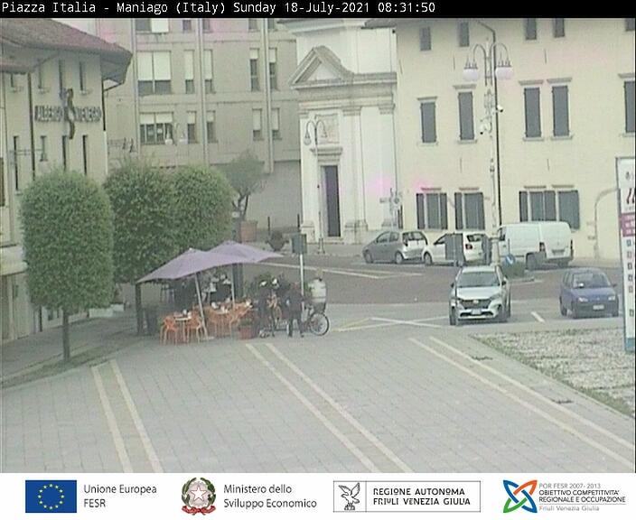 Maniago Vista sulla piazza